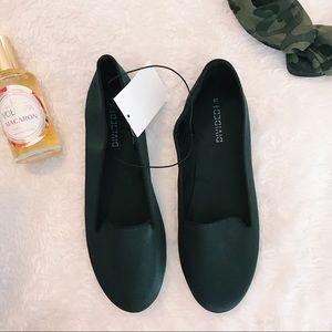 H & M Black Flats Size 7